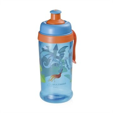 Copo Squeeze Grow Azul 36M+ Multikids Baby - BB031
