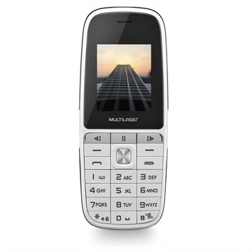 Celular Up Play Dual Chip Mp3 Com Câmera Branco - Multilaser - P9077